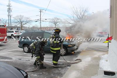 North Lindenhurst F.D. Vehicle Fire 150 E. Sunrise Hwy. 2-23-15