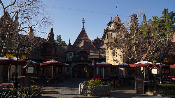 Disneyland Resort, Disneyland, Fantasyland, Village Haus, Village, Haus, Restaurant, Red Rose Tavern, Red, Rose, Taverne, Tavern, Beauty And The Beast, Beauty, Beast