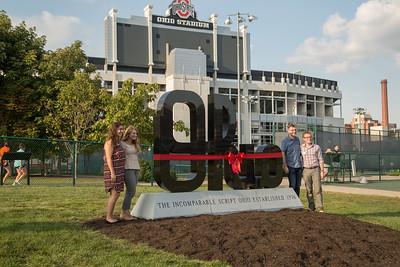 2018 Ohio Staters Inc. Script Ohio Unveiling and Ceremony