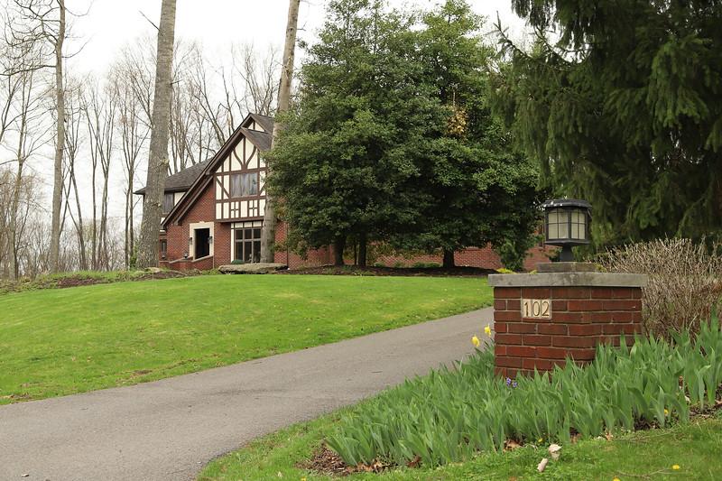 Roskovski house on 102 Dogwood Ct. Couple indicted for fraud Thursday. Seb Foltz / Butler Eagle