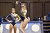 MORGANTOWN, WV - MARCH 8: WVU female gymnast Melissa Idell performs on the floor exercise during a dual meet March 8, 2015 in Morgantown, WV.