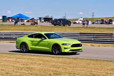 2020 SCCA TNiA July 29th Pitt Race Lt Green Mustang