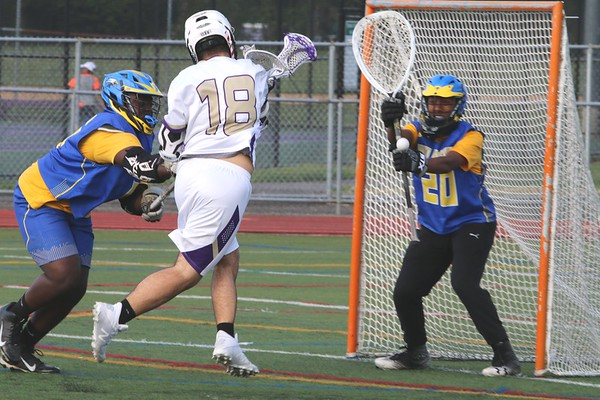 April 30 2019 Boys LAX Sr Night Game vs North Bruns HS, Photos by R. DeBoer