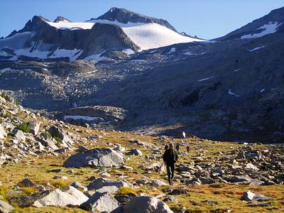 Lyell Glacier: Sept 11-14, 2010