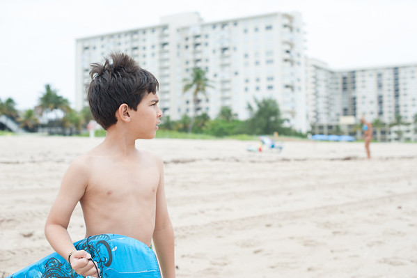 2013.07.20 The Beach with Ryan
