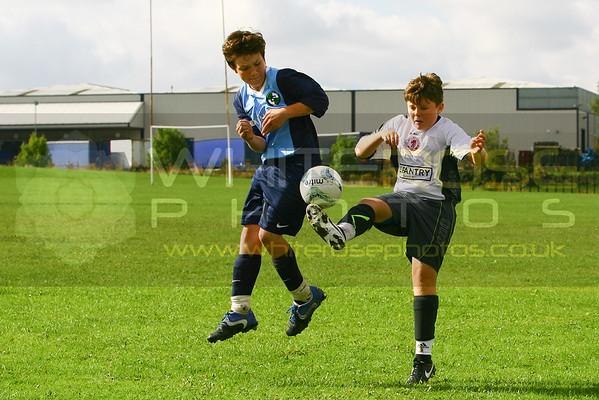 Under 13's v Greenhill 07 - 09 - 14