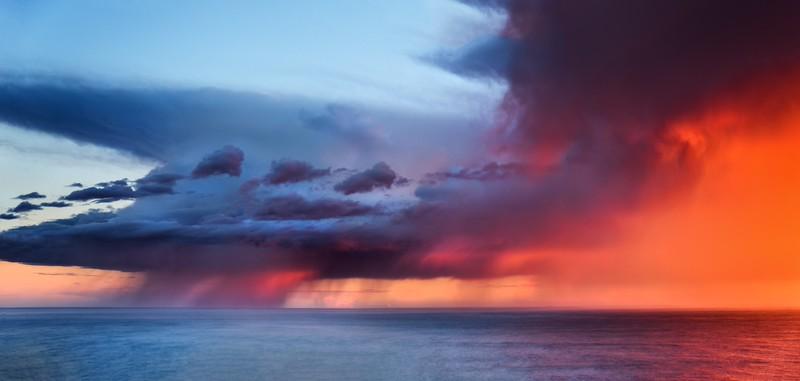 Ocean Rain, Sea Ranch, California
