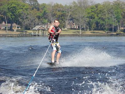 River Ski day, 2010