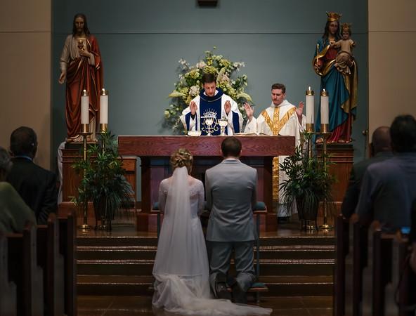 Mallory and Joshua wedding