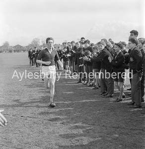 Aylesbury Grammar School cross country run, Apr 9th 1962