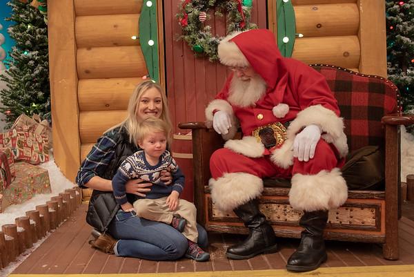 Visiting Santa 2018