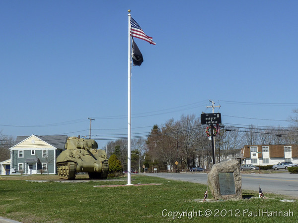 Pvt. Norbert A. Papineau Memorial - New Bedford, MA - M4A3