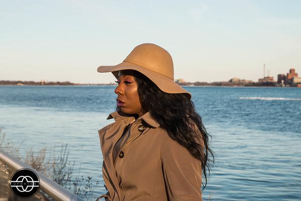 Dominique Rickett Riverfront Photo Shoot