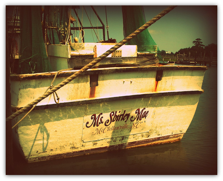 Old Shrimp Boat