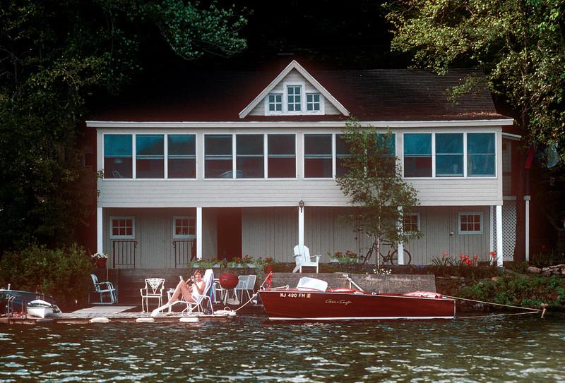 1990-08 Nancy At Green Pond.jpg