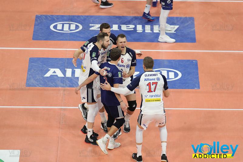 ALLIANZ MILANO 0 - ITAS TRENTINO 3 Quarti di Finale - Del Monte Coppa Italia SuperLega 2019/2020 Allianz Cloud - Milano - 23 gennaio 2020