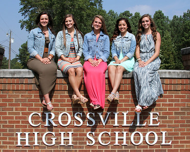 Crossville Homecoming Court 2013