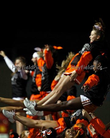 Cheerleaders Wakefield 10/15/10