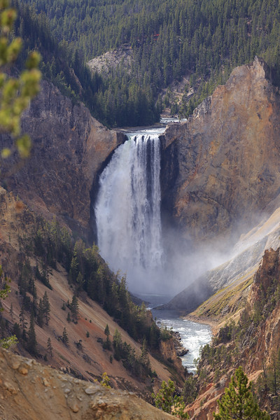 Lower Falls of the Yellowstone 001