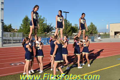Freshman Cheer vs. TVHS