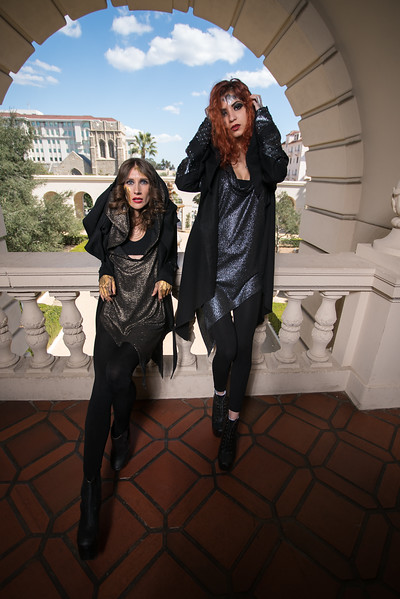 Pasadena City Hall Photo shoot with Fiola the fashion designer,Models: Mia Caporale, Sha, Erin