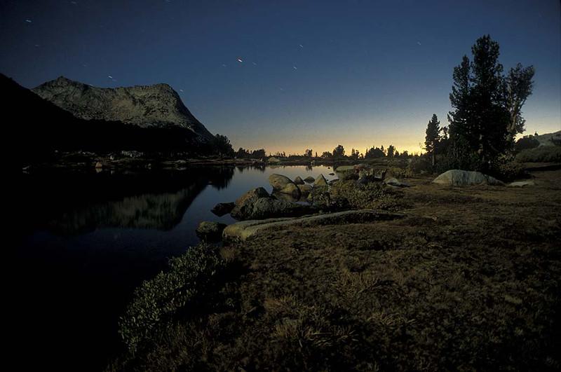 Backcountry Yosemite; Vogelsang Twilight