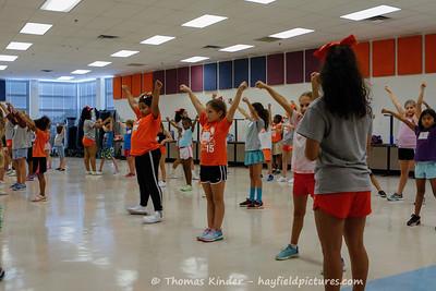 Little Hawks Cheer Camp 9/20/17
