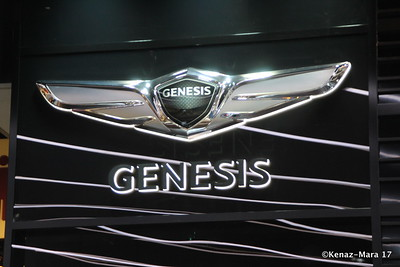 Genesis Luxury Cars at The Chicago Auto Show