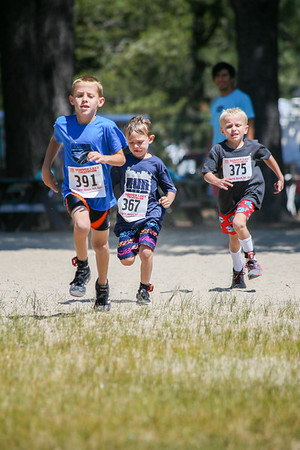 Donner Lake Tri Kids Run