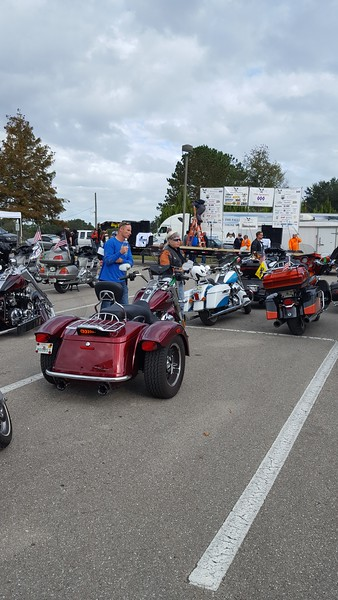 Bikers on Parade