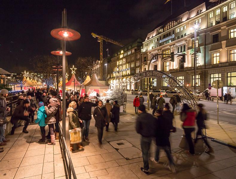 Weihnachtsmarkt Jungfernstieg Hamburg