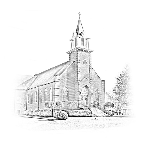 United Methodist Church, Linden, Alabama