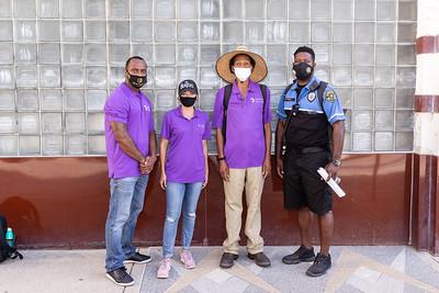 DDI Homeless Outreach event