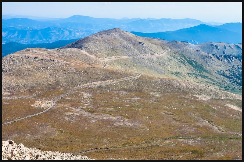 Mount Evans, Colorado; Mt. Evans