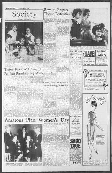 Daily Trojan, Vol. 53, No. 81, March 02, 1962