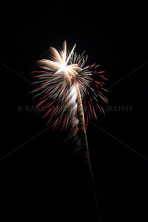Fireworks: Up Close....Directly Overhead!