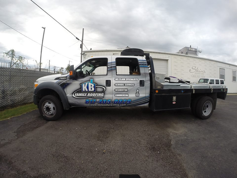 KB Family Roofing, '12 Ford E350, Dallas, TX