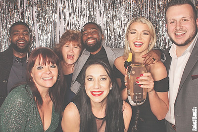 12-14-18 Atlanta The Painted Duck Photo Booth - 2018 Cortland Holiday Party - Robot Booth