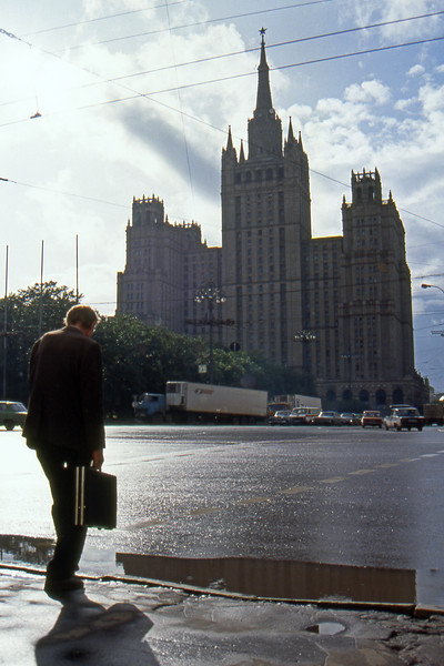 Moscow - Russian Federation - Summer 1993