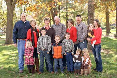 Sampson Extended Family- 2012