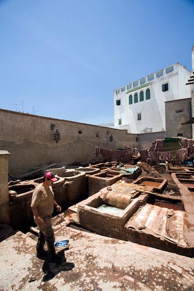 Tannery, Tetouan, Morocco