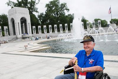 Honor Flight Houston - WWII Memorial & Vietnam