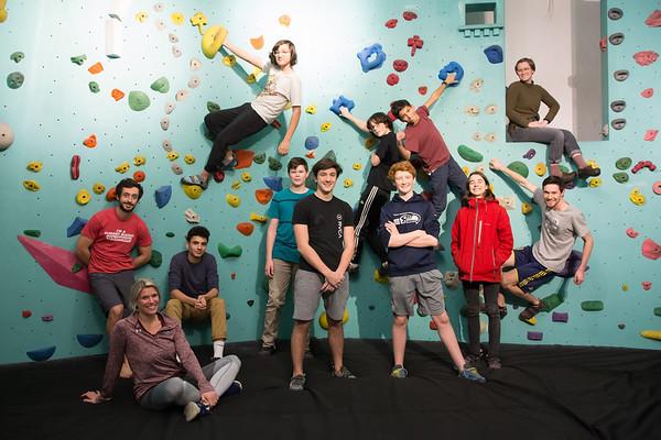 2018 - 2019 Bouldering Club