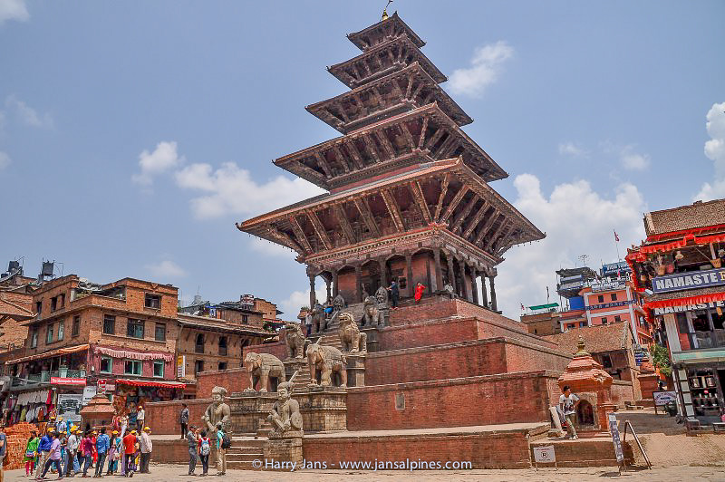 Nyatapola Temple, Bhaktapur, highest in Nepal