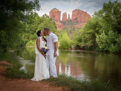 Wedding Cerermony Locations at Crescent Moon Ranch