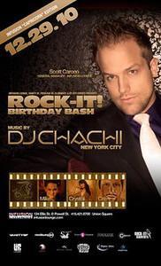 Rock-It Birthday Bash @ Infusion Lounge 12.29.10