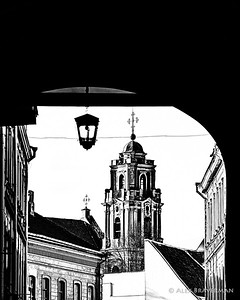 Vilnius in B&W