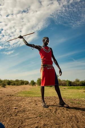 The Maasai People, Kenya