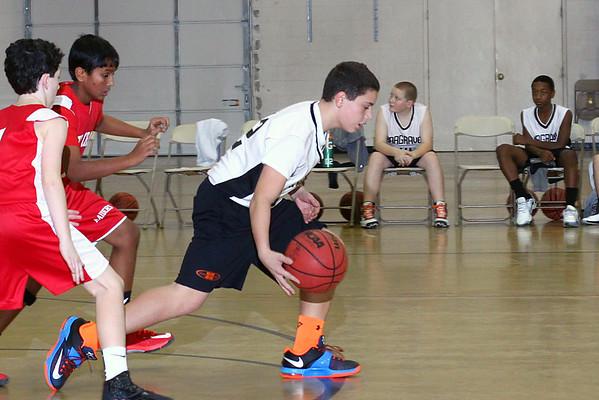 MS Basketball v North Cross School