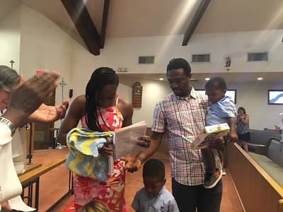 Obinna Chibugo Moneke Baptism